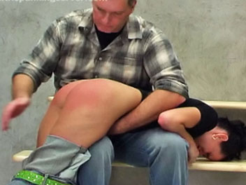 Jeans and a spanking1  dominika knows her school has a strict  no jeans  policy but wears them anyway   this brazen act of defiance lands her in the headmasters office and her firm anus in hot water   the headmaster drags her across his lap where she rece. Dominika knows her school has a strict - no jeans - policy, but wears them anyway.  This brazen act of defiance lands her in the headmasters office, and her firm anus in hot water.  The headmaster drags her across his lap where she receives her punishment