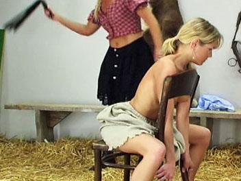Whipped in a chair1  watch karin get whipped while sitting in a chair in this horny whipping film   karin holds onto the chair with all of her might as her naked back is whipped into submission   karin hates getting whipped and hopes this will be her last. Watch Karin get whipped while sitting in a chair in this sexy whipping film.  Karin holds onto the chair with all of her might as her naked back is whipped into submission.  Karin hates getting whipped and hopes this will be her last whipping session for