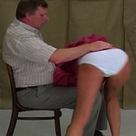 Some girls need the stiff hand of a man to best learn their lesson, and thats what was needed for Lina.  She had repeatedly disrespected her headmaster, and so it was time for him to ensure it would never happen again.  He ensured her ass was as red as hi