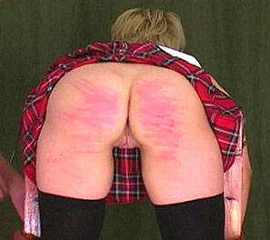 School of pain1. Lara is in todays caning video, with the headmasters leading the punishment.  She was found smoking in the girls bathroom, and her streak of rebellion had to end.  They then knew corporal punishment was the only way to teach a slut of this magnitude, and