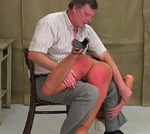Bent over and spanked1. The spanking in this video is a testament to how vicious the headmaster can be to certain students.  Sandra hadnt really done anything wrong as of late but it was felt she would eventually do something, as she had been more and more bold about her demeano