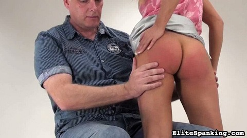 Barra has been a very naughty girl. Her spanking Master didn