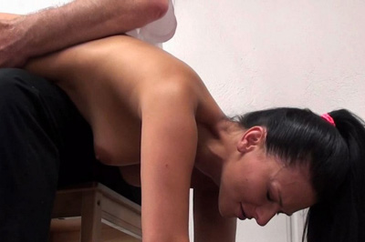 His spankings are sure to leave any ass neon red and sore. His discipline isn
